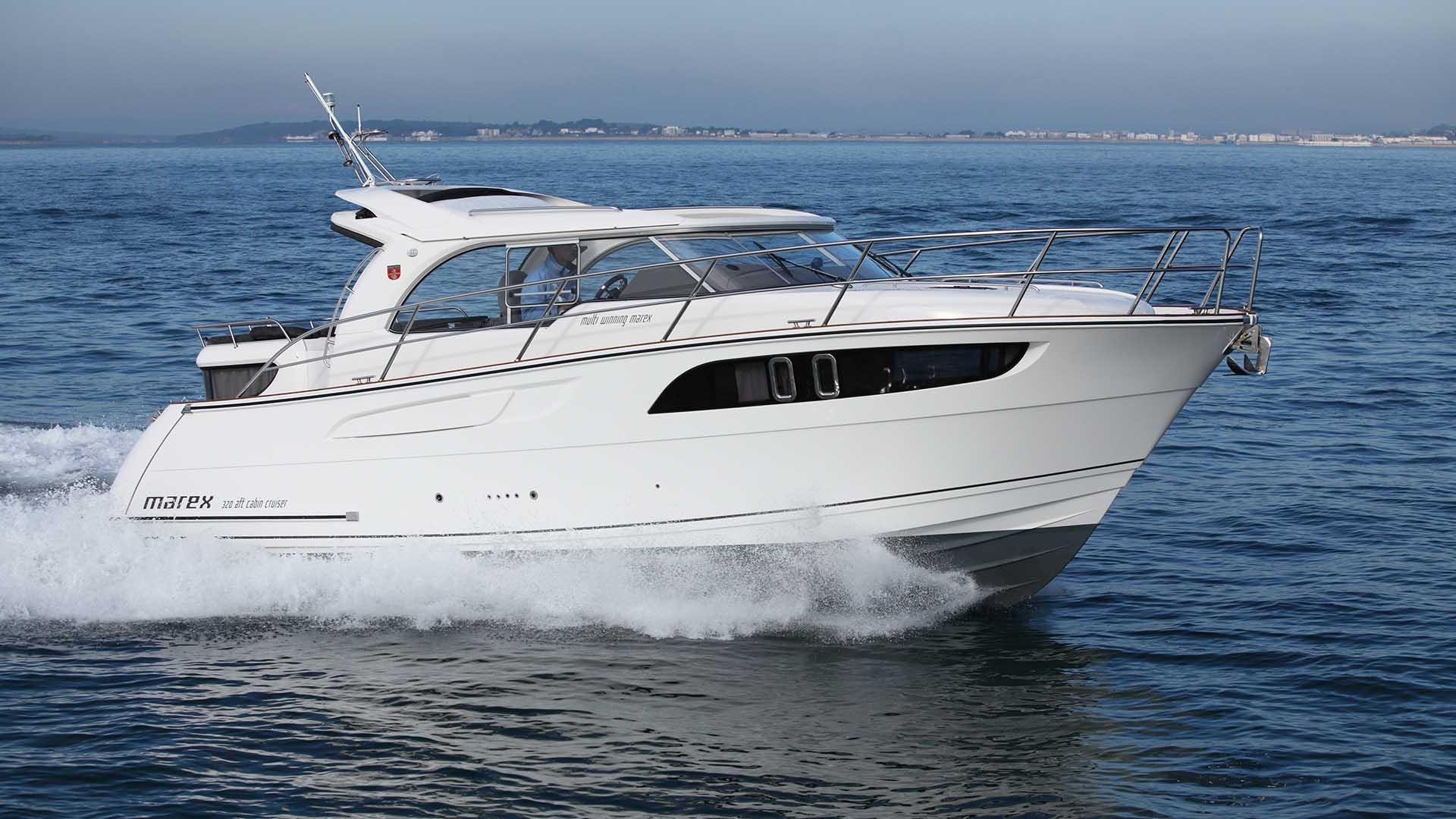 Marex 320 Aft Cabin Cruiser - Wessex Marine